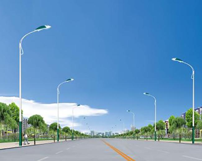 太阳能单臂路灯